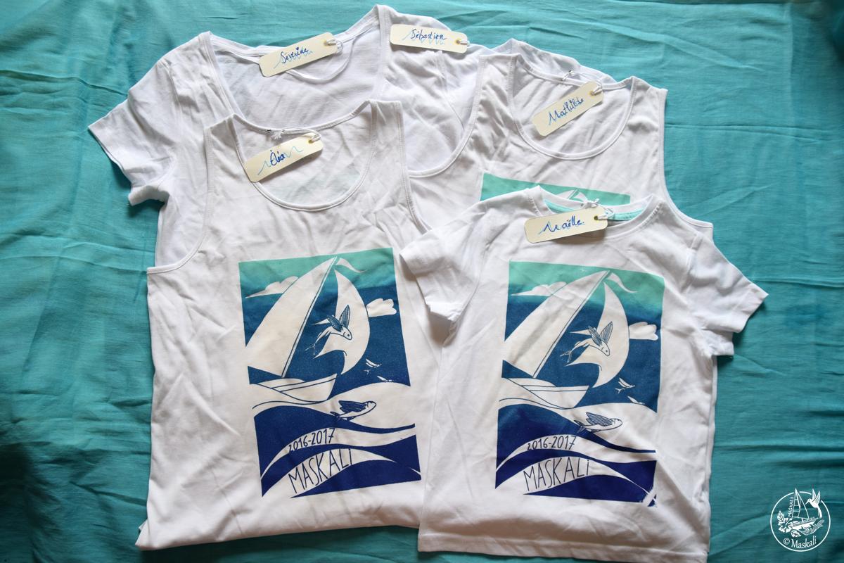 Des tee-shirts personnalisés