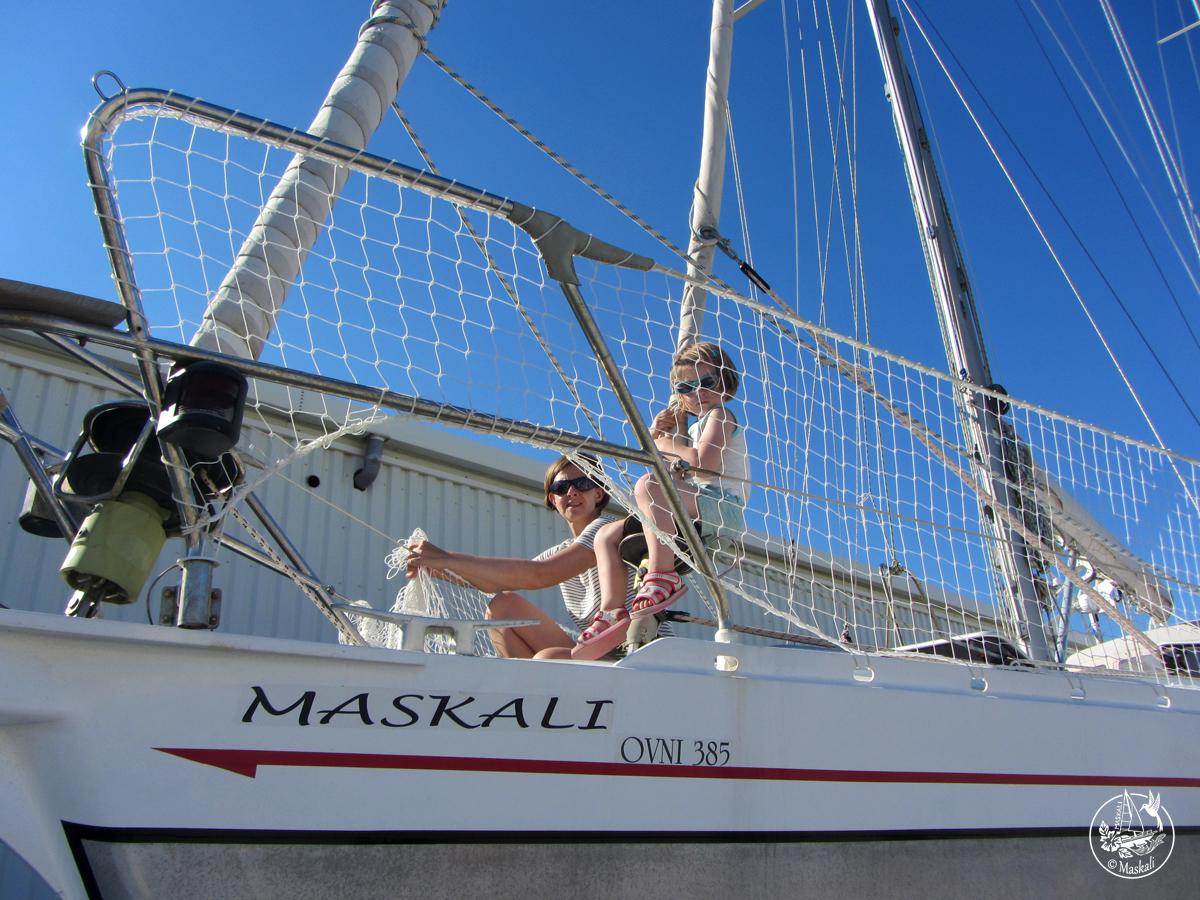 Etape 2 : la préparation du bateau
