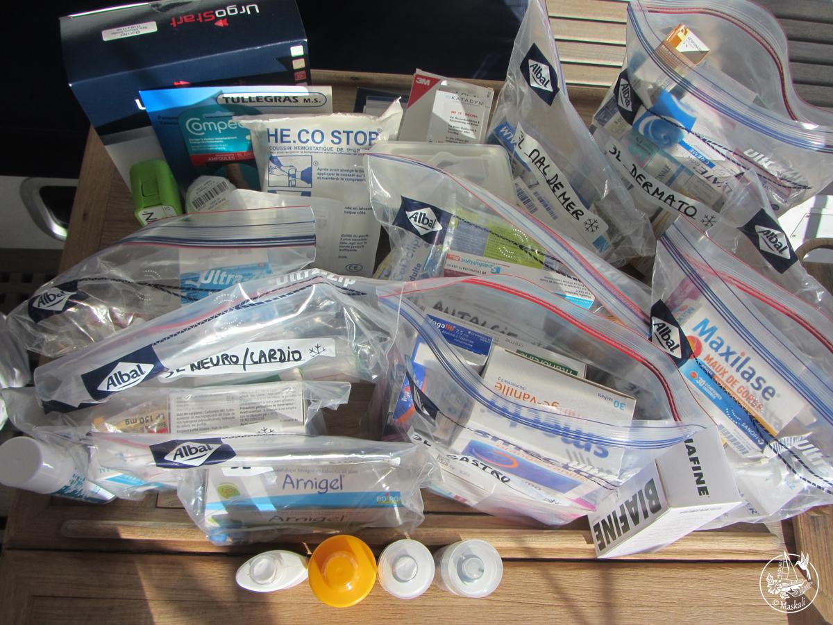 La pharmacie de bord