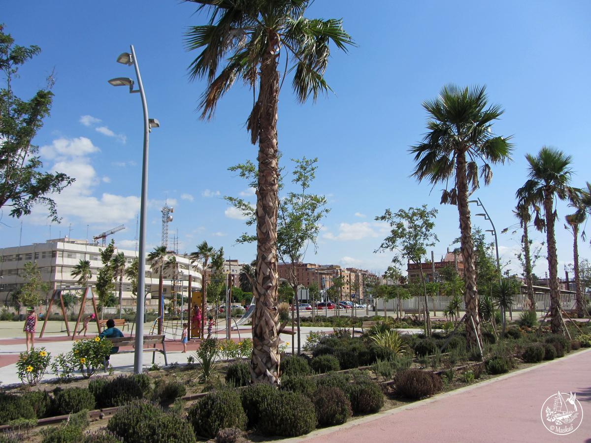 Au parc à Alméria