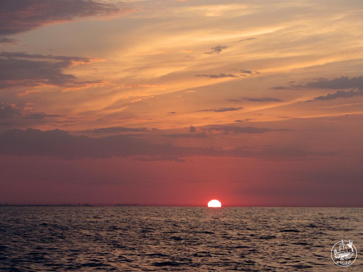 Nos premiers jours en mer