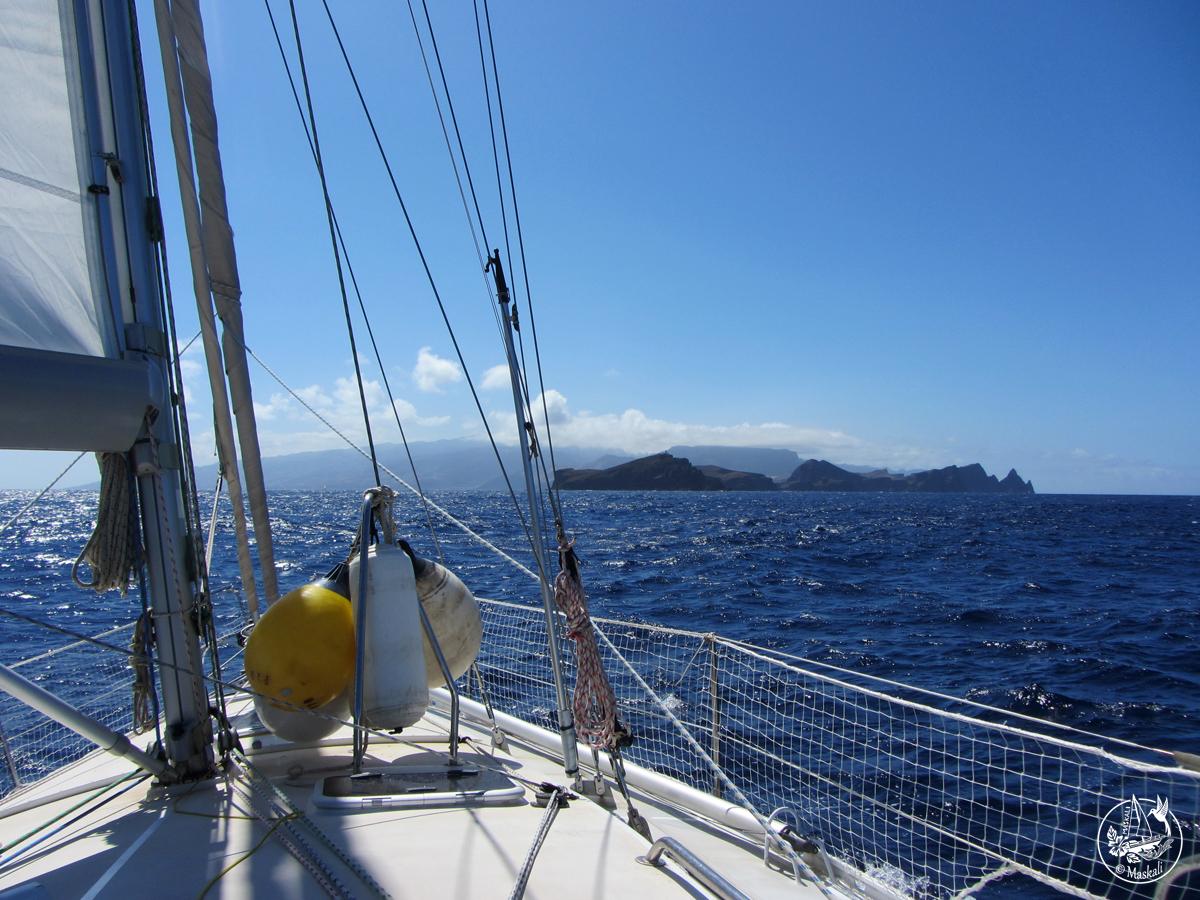 Du 19 au 24 août : récit de notre traversée de Gibraltar jusqu'à Madère