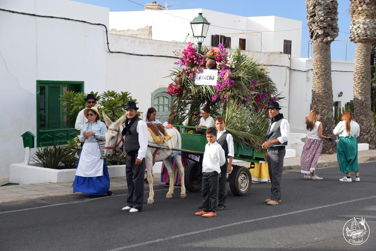 La fête de la Vierge des Volcans à Lanzarote