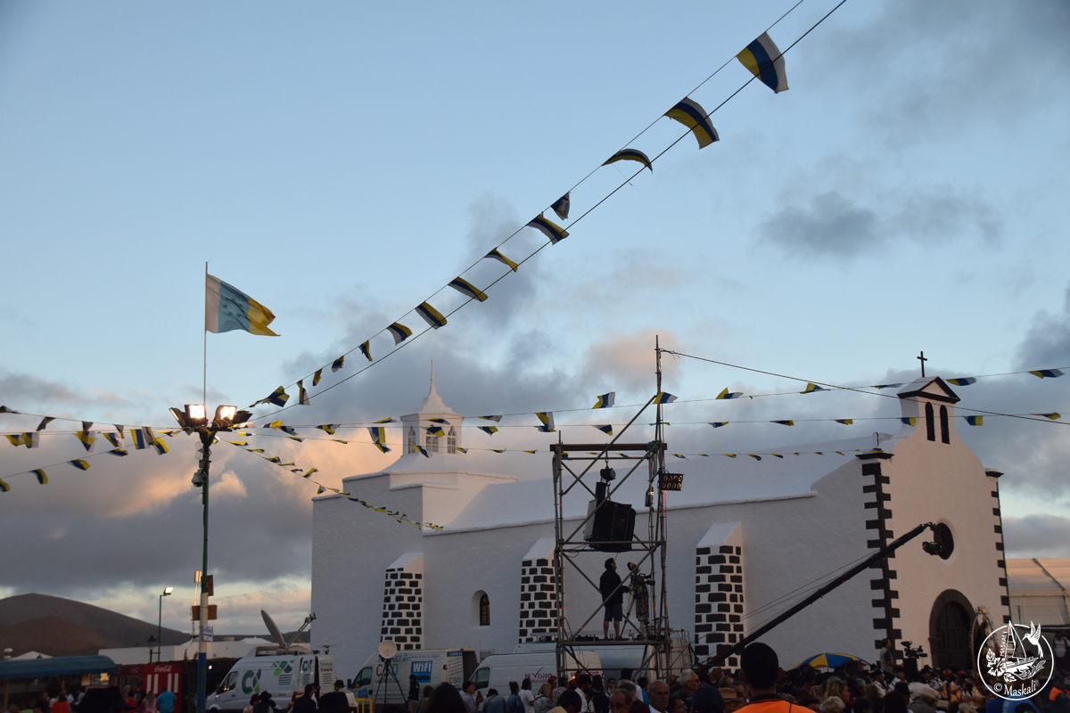 Lanzarote - Tinajo - Fête de la Vierge des Volcans