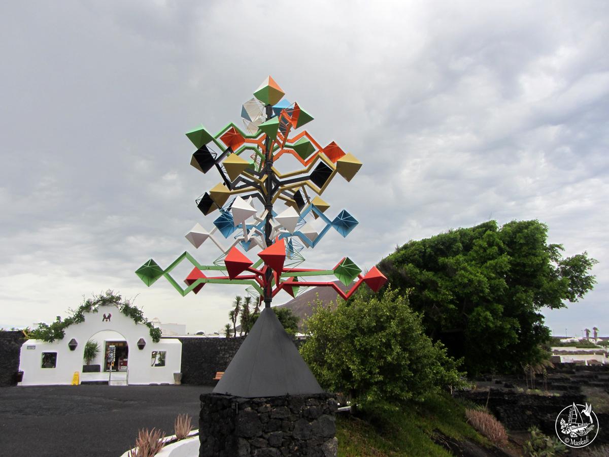 Lanzarote - Fondation César Manrique
