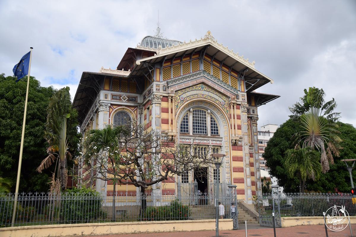 Martinique - Bibliothèque Shœlcher