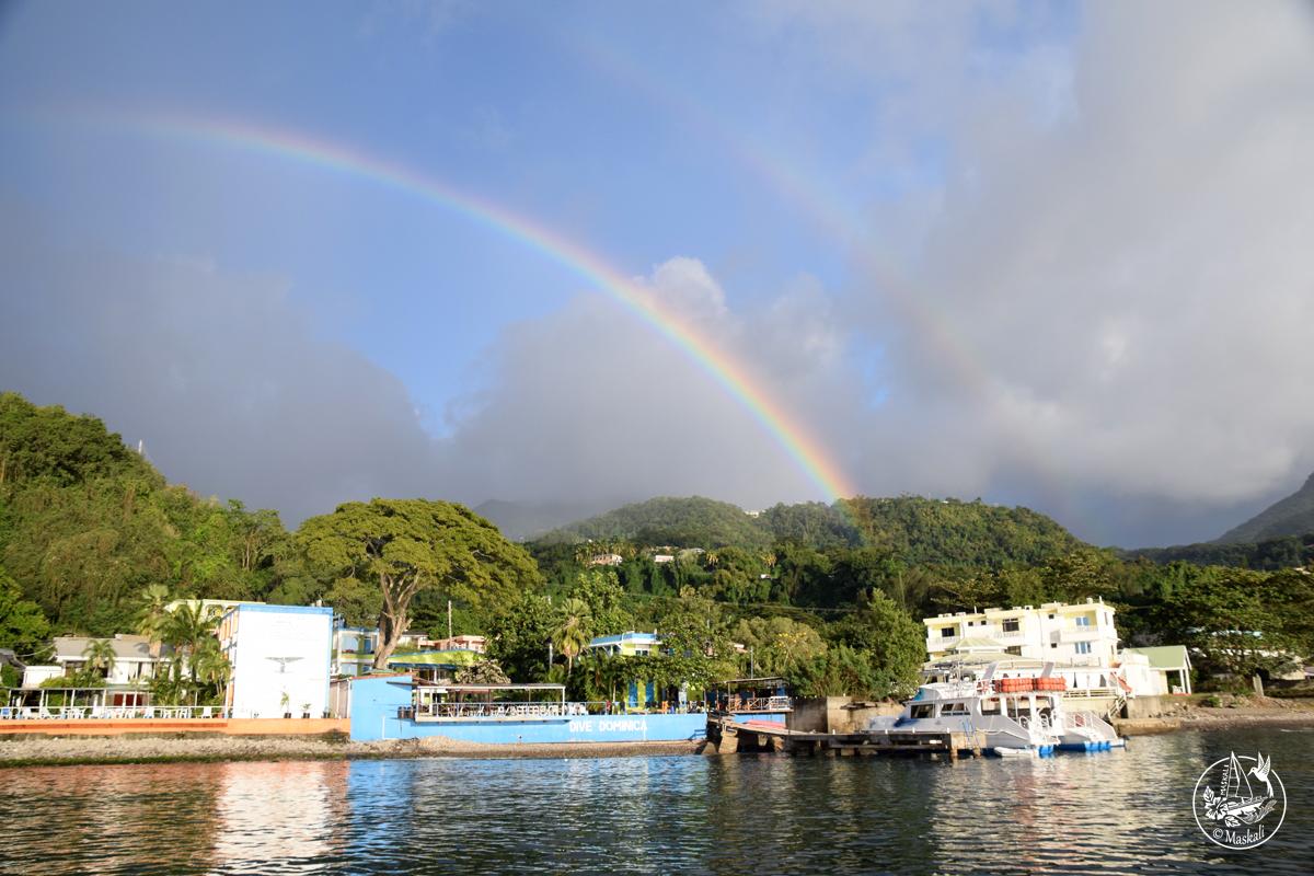 5 février : arrivée à la Dominique