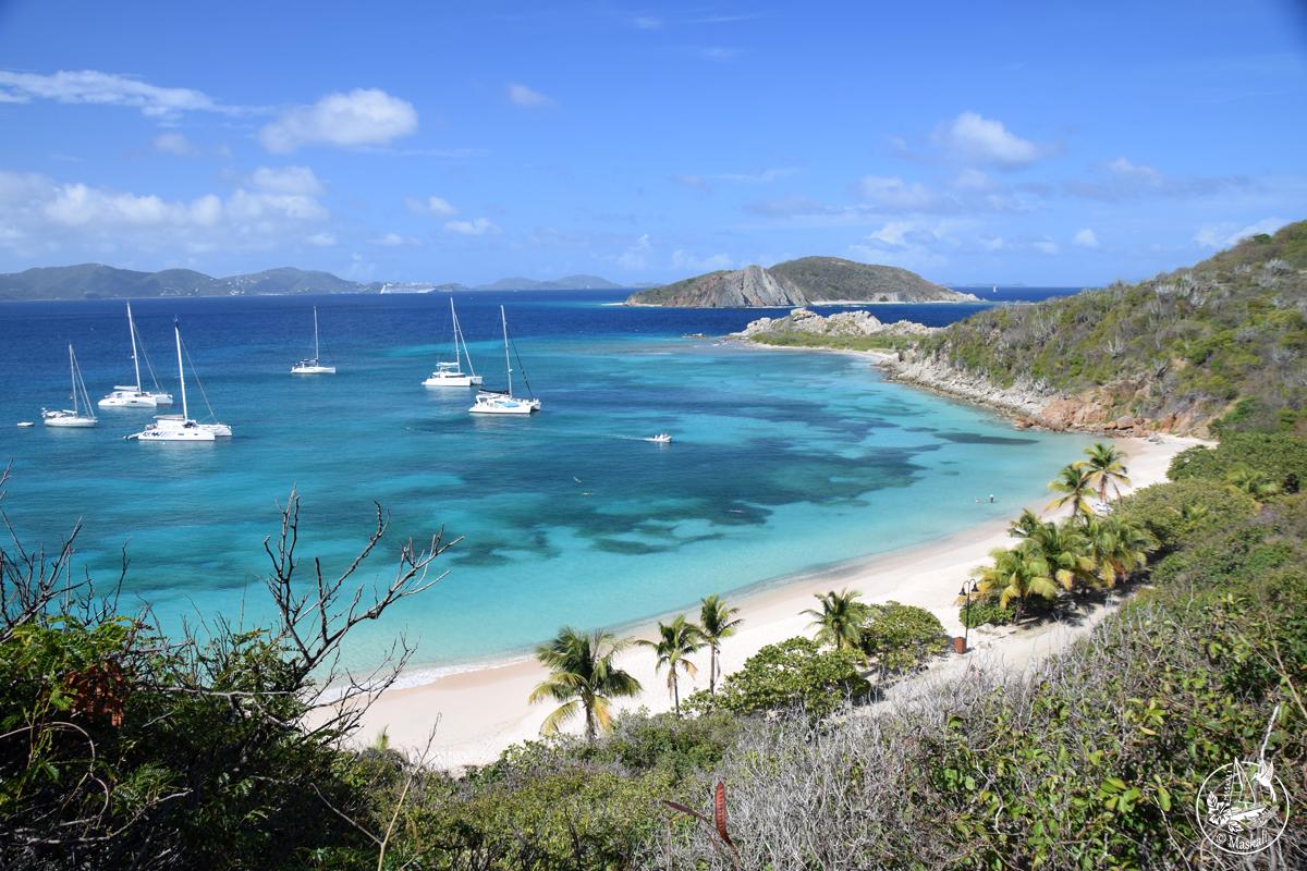 22 mars – Arrivée aux Iles Vierges britanniques