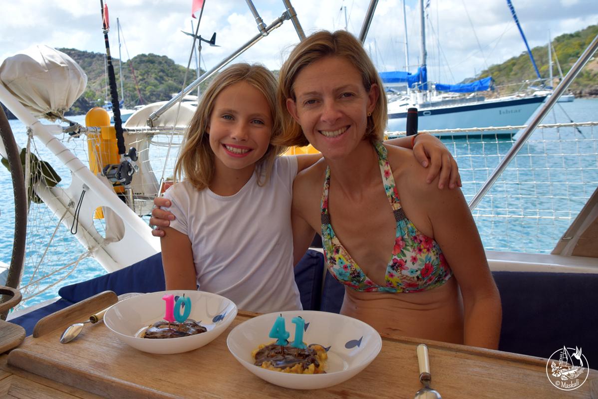28 février : anniversaire en duo à Antigua !