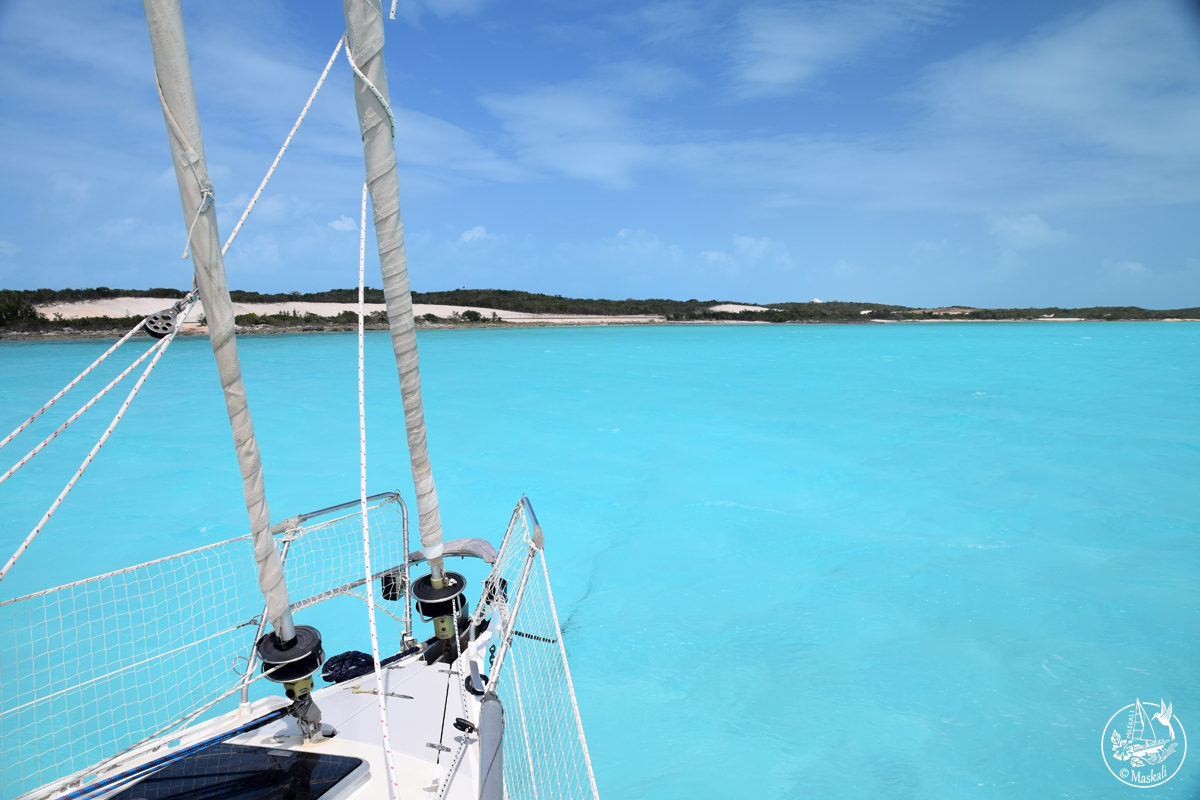 13 au 16 avril : vers les Bahamas