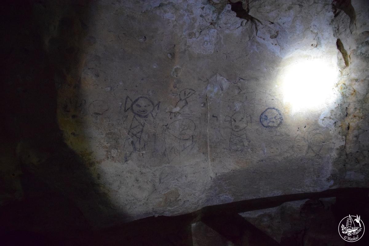 Les peintures rupestres Taïno.