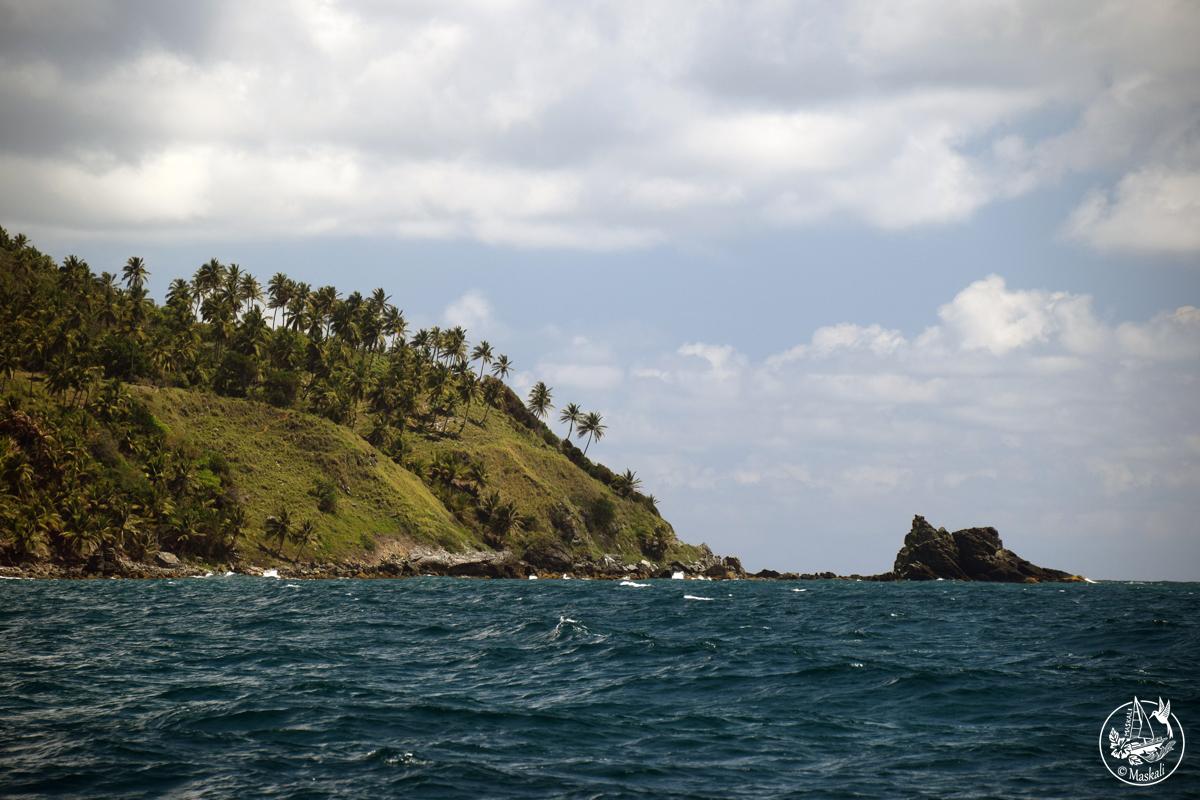 Arrivée en République dominicaine, dans la péninsule de Samana.